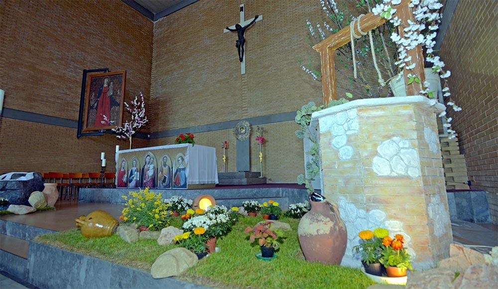 altare chiesa misericordia