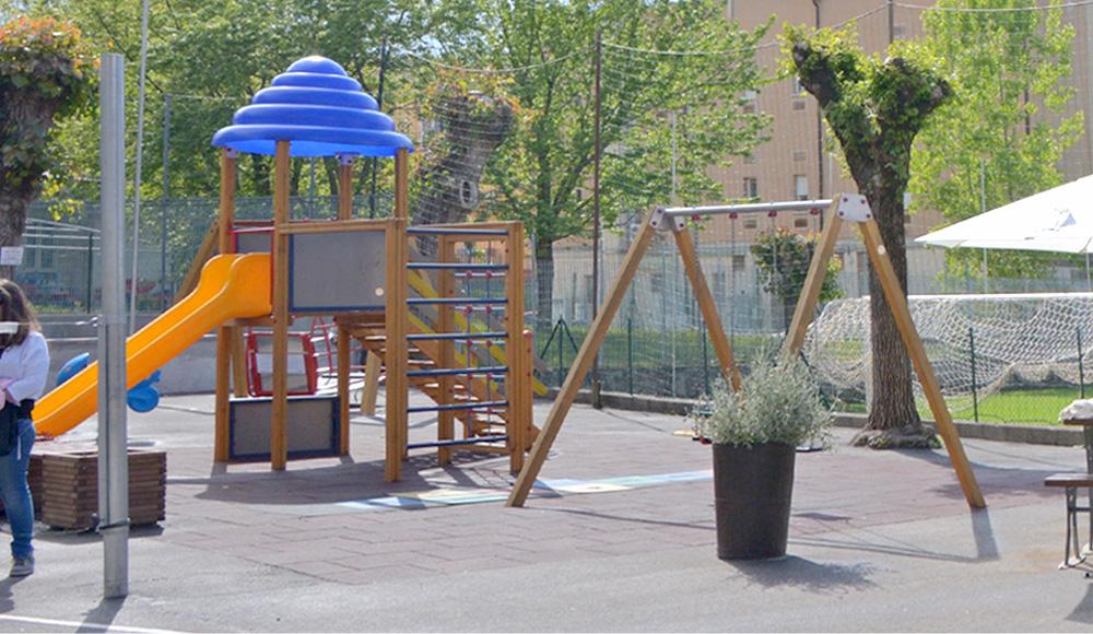 parco giochi parrocchia