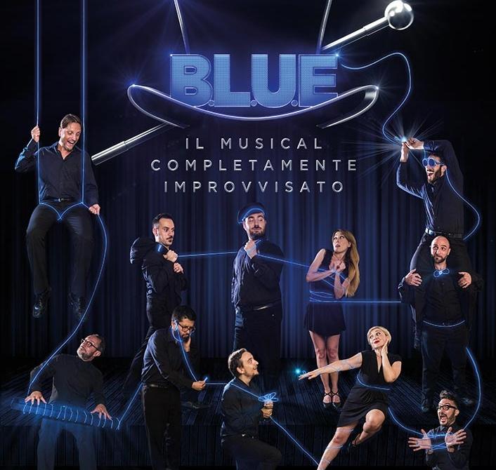 B.L.U.E. – il musical completamente improvvisato